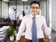 Portrait of asian business man Stock Images