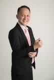 Portrait of Asian business man Stock Image