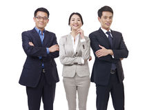 Portrait of asian business team Stock Photography