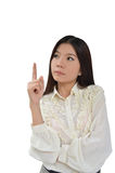 Portrait of Asian Business woman Stock Image