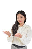 Portrait of Asian Business woman Royalty Free Stock Image