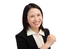 Portrait of an asian business woman Royalty Free Stock Images