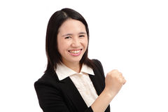 Portrait of a asian business woman Stock Image