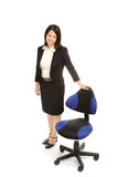 Portrait of an asian business woman Stock Photos