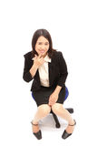 Portrait of a asian business  woman Royalty Free Stock Photo