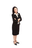Portrait of a asian business woman smile Royalty Free Stock Photography