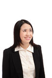 Portrait of a asian business woman smile Royalty Free Stock Photo