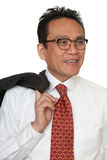 Portrait Asian businessman Royalty Free Stock Images