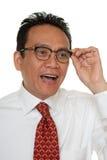 Portrait Asian businessman Royalty Free Stock Image
