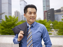Portrait asian businessman Stock Images