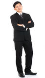 Portrait asian businessman people isolated Stock Photos