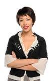 Portrait of Asian Businesswoman Stock Images