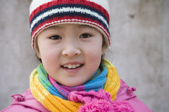 Portrait asian child Stock Photography