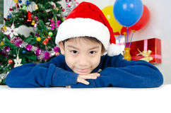 Portrait of Asian cute boy Stock Image