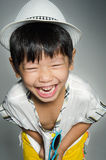 Portrait Of asian cute boy Royalty Free Stock Photos