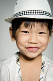 Portrait Of asian cute boy Royalty Free Stock Images