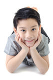 Portrait Of asian cute boy Royalty Free Stock Image