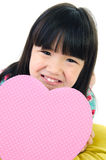 Portrait of asian cute child Royalty Free Stock Photos