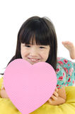 Portrait of asian cute child Royalty Free Stock Photo