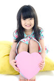 Portrait of asian cute child Stock Photography
