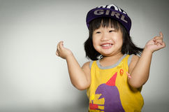 Portrait Of asian cute Girl Stock Photography