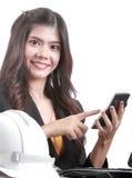 Portrait Asian Engineer Royalty Free Stock Photo