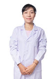 Portrait of Asian female doctor Royalty Free Stock Photography