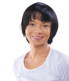 Portrait of asian female smiling Stock Image