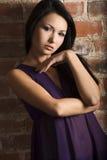 Portrait of asian girl Stock Image
