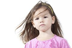 Portrait of Asian girl Royalty Free Stock Images