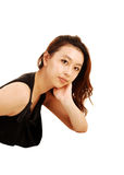 Portrait of Asian girl. Royalty Free Stock Image