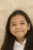 Portrait of Asian Girl Smiling Stock Photography