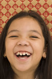 Portrait of Asian Girl Smiling Royalty Free Stock Image