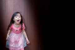 Portrait of Asian happy little girl Royalty Free Stock Photography