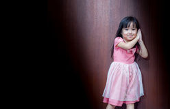 Portrait of Asian happy little girl Stock Photography