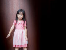 Portrait of Asian happy little girl Stock Images