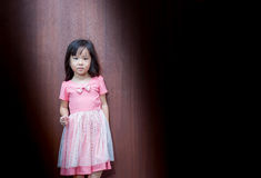 Portrait of Asian happy little girl Royalty Free Stock Image
