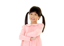 Portrait of asian kid Stock Photo
