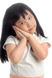 Portrait of asian kid Stock Photography