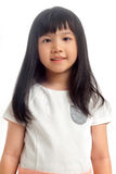 Portrait of asian kid smiling Royalty Free Stock Images