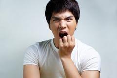 Portrait of Asian Male Model Stock Photo