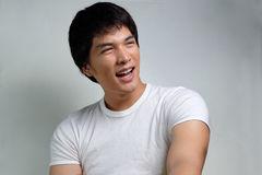 Portrait of Asian Male Model Stock Photography