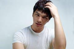 Portrait of Asian Male Model Stock Image