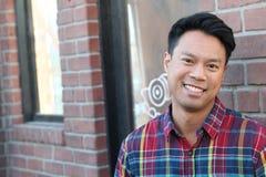 Portrait of Asian man. Portrait of an Asian man stock photos