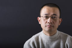 Portrait of asian man royalty free stock photos