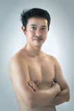 Portrait of Asian man Royalty Free Stock Photos