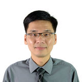 Portrait of Asian man Stock Images