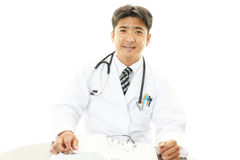 Portrait of an Asian medical doctor Stock Photos