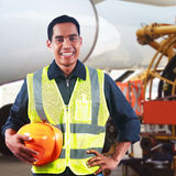 Portrait of asian professional engineer Royalty Free Stock Images
