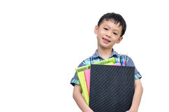 Portrait of Asian schoolboy Royalty Free Stock Photography